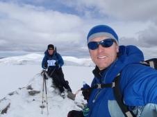 Summit of Beinn a'Chaorainn