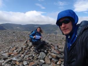 Summit of Beinn Bheoil